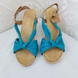 Aerosols Blue and Tan Wedges